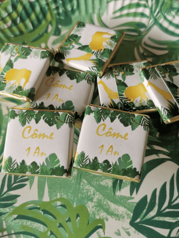 chocolats personnalisés - délicieux cadeau unique