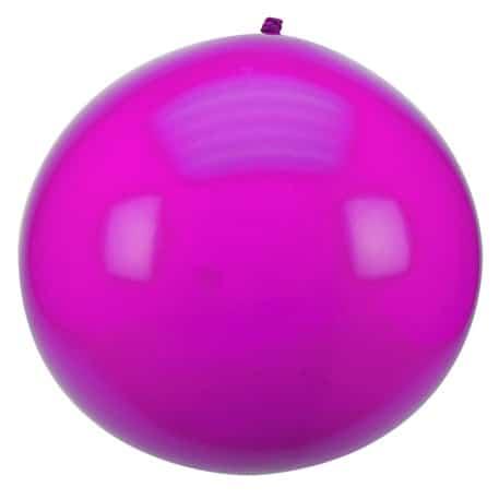 ballon géant fushia fête crealoca