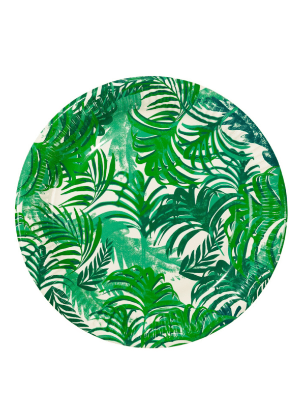 Assiettes forêt tropicale