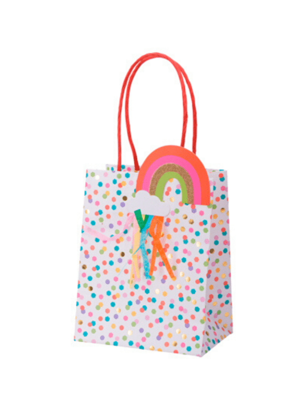 sac cadeau multicolore candy