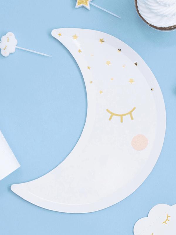assiettes lune