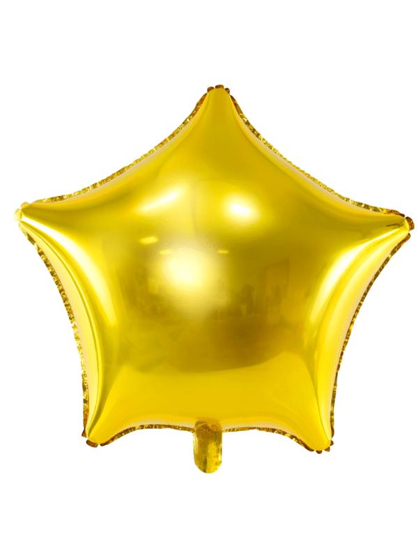ballon étoile doré