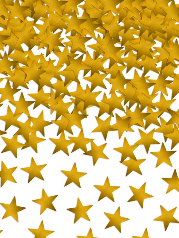 confetti étoiles dorées