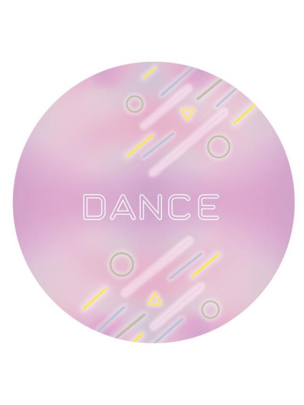 Décoration de fêtes anniversaires filles Dance rose et pastel personnalisables