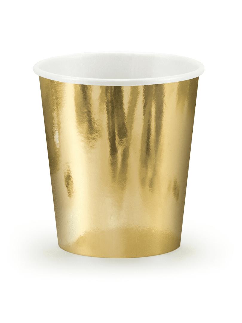 gobelets dorés 18cl