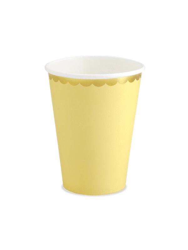 gobelet jaune pastel crealoca fete