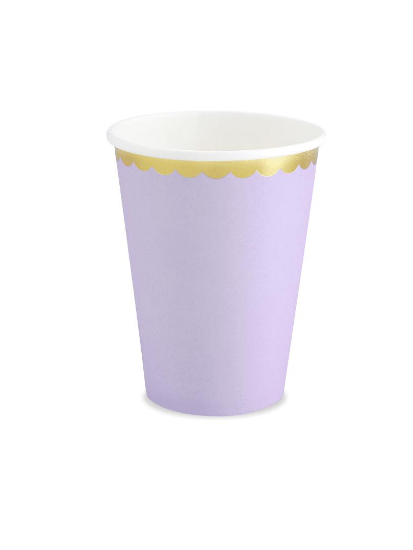 gobelet lilas pastel