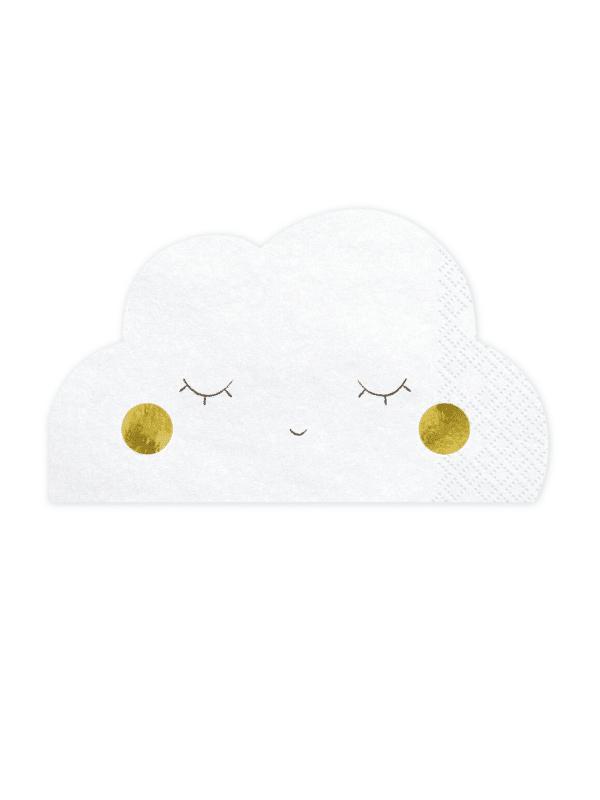 Serviettes nuage