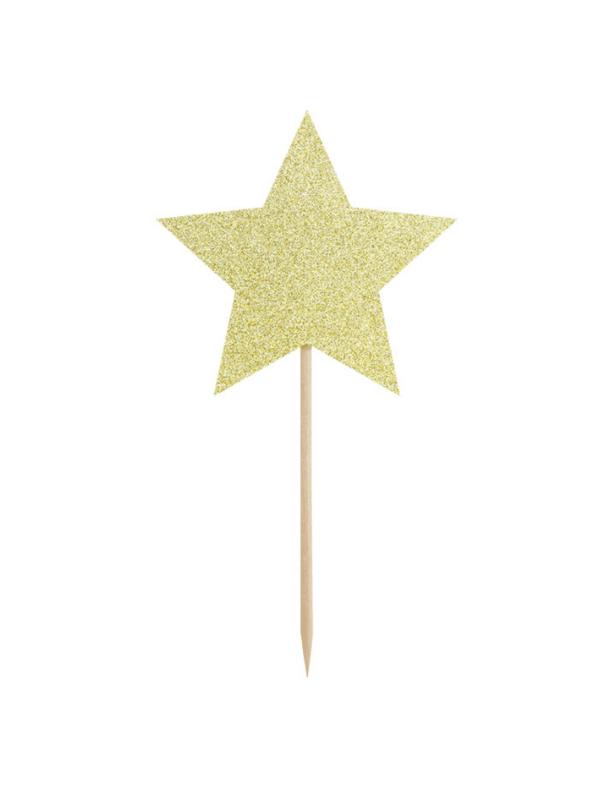 pics étoiles dorées