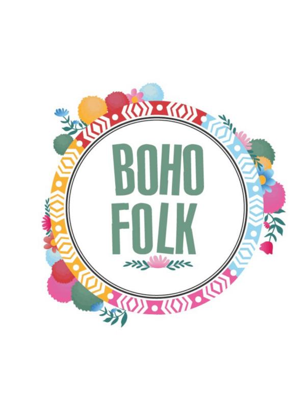 Décorations de fête tendance personnalisables boho folk
