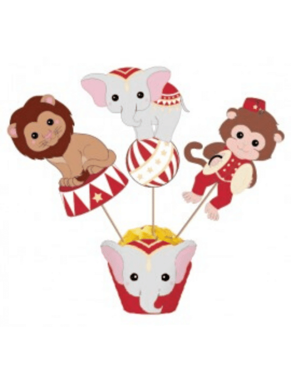 cake toppers cirque vintage