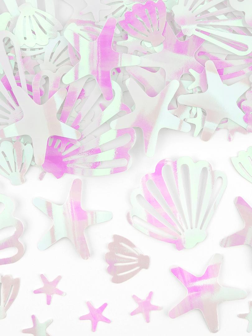 confettis sirène