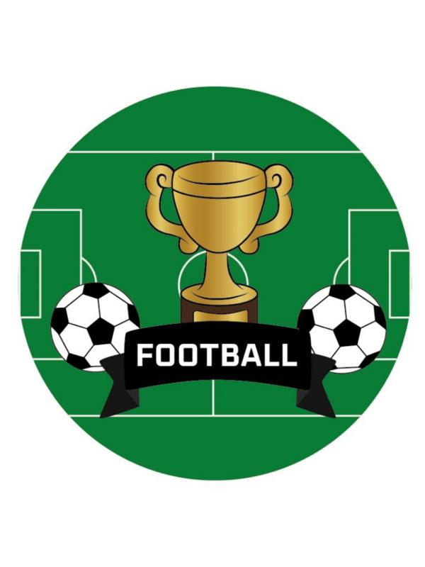 décorations de fêtes anniversaires football à personnaliser