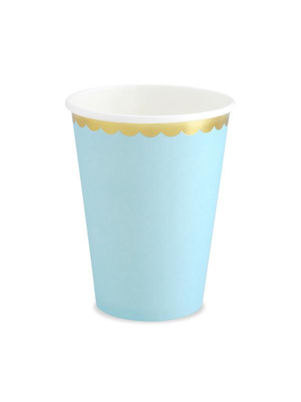 gobelet bleu pastel crealoca fete