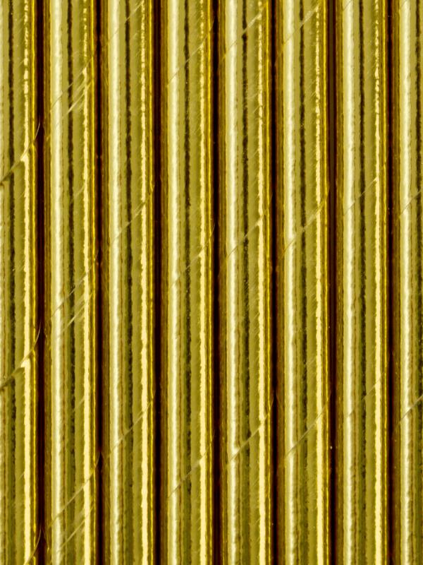 pailles dorées