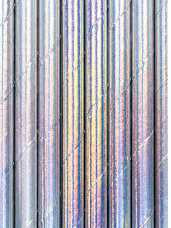 pailles irisées