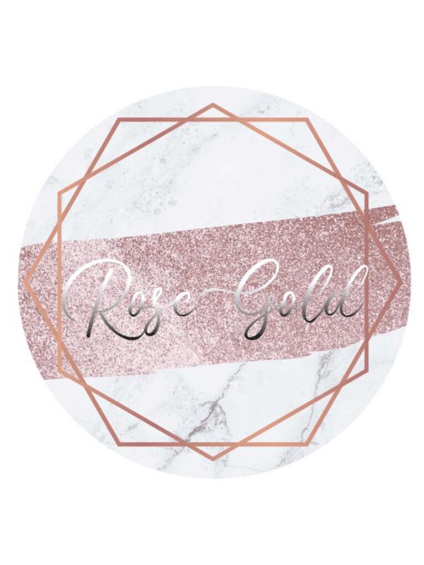décoration de fête tendance rose gold