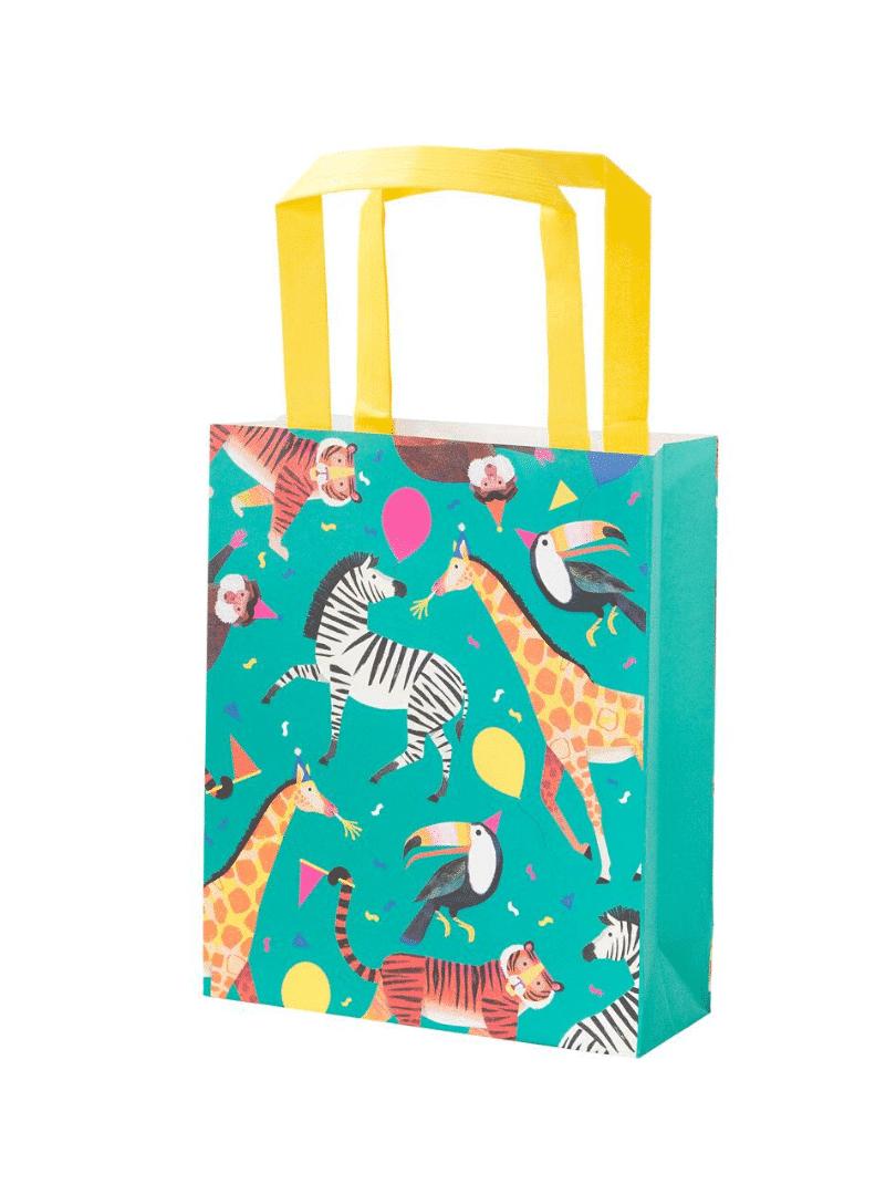 sacs cadeaux animaux en fête
