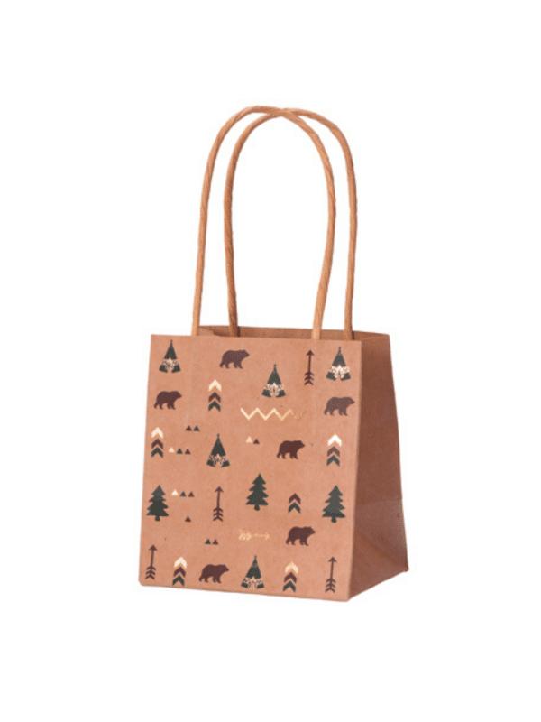 sacs cadeaux forêt