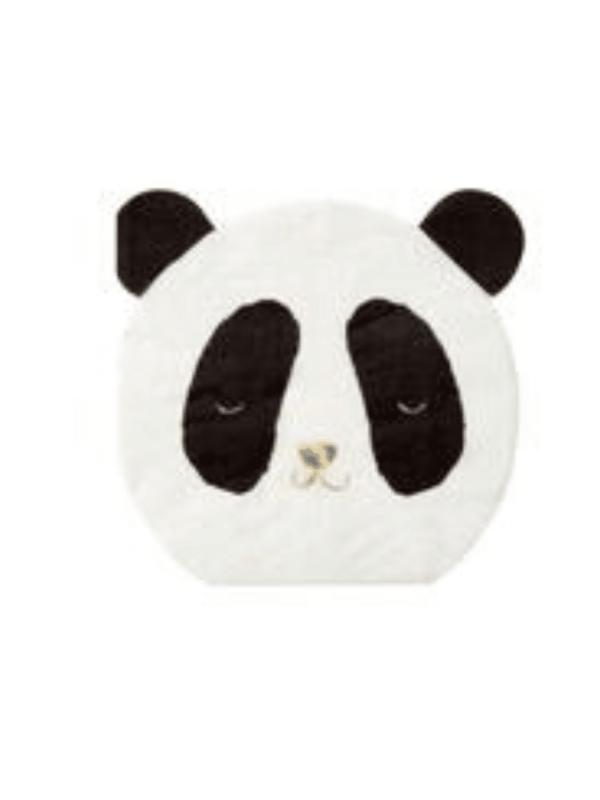 serviette panda anniversaire déco fête