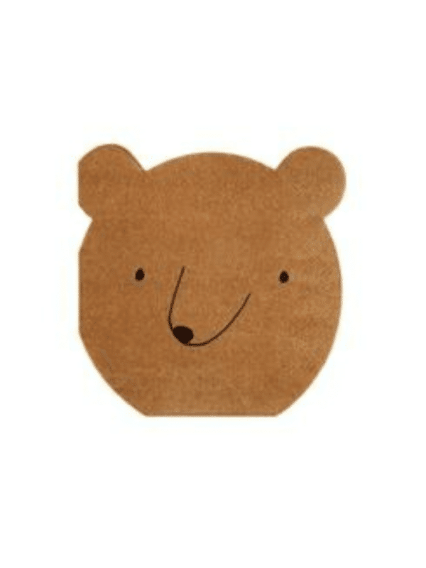 serviette tete d'ours fete crealoca