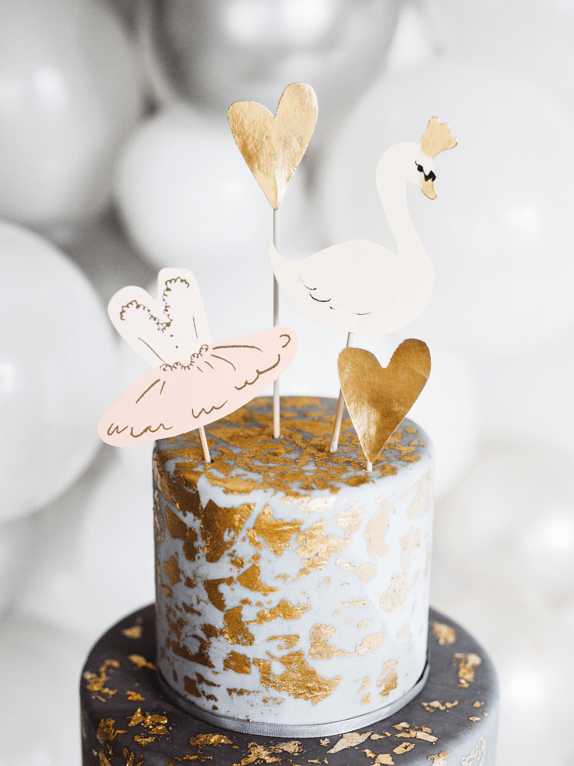 cake toppers cygne