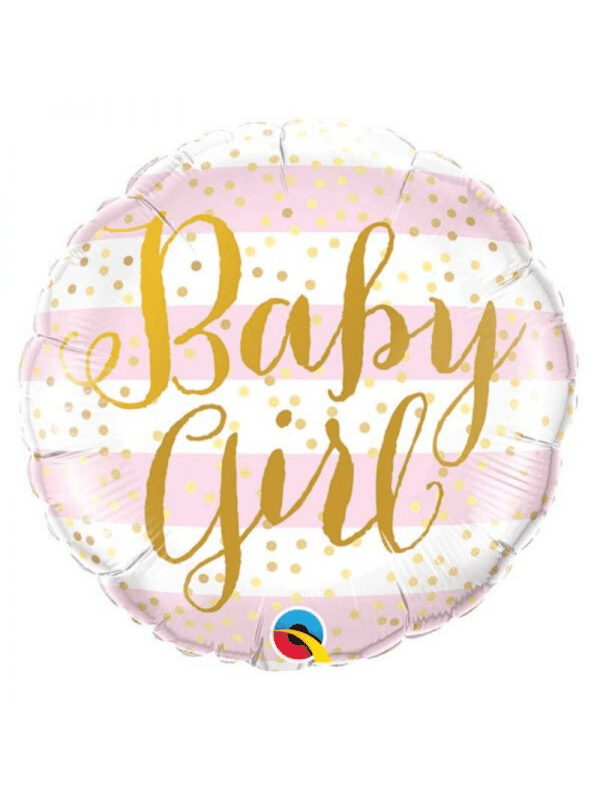 ballon baby girl crealoca babyshower 1an