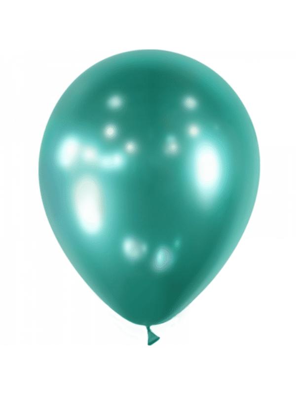 ballon vert brillant