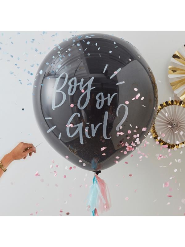 ballon confettis boy or girl