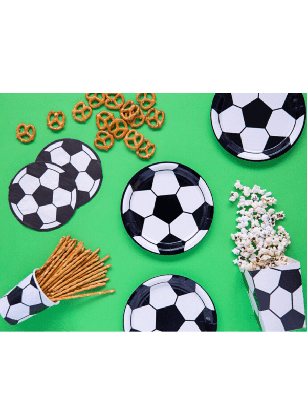 football assiettes gobelets ballon