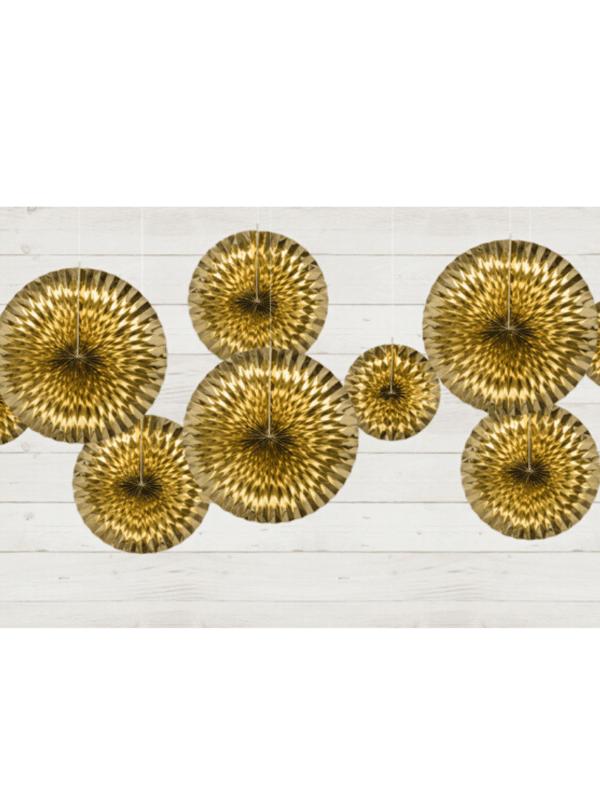 rosace décorative gold