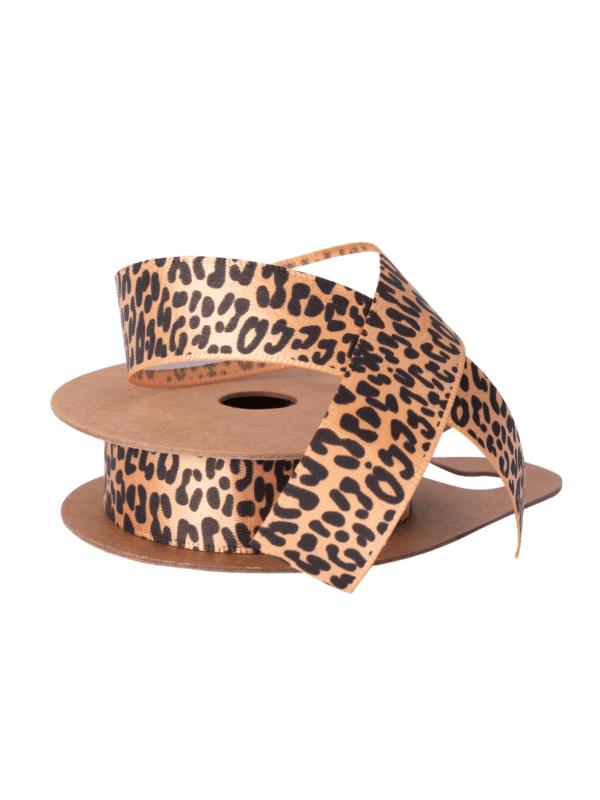 ruban adhésif léopard tissu
