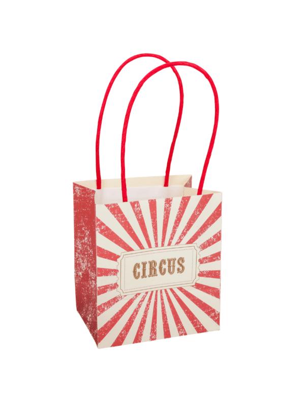 sacs cadeaux cirque vintage décoration de fête