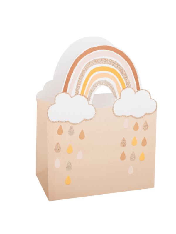 sacs cadeaux rainbow décoration invités