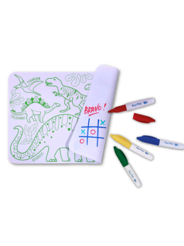 mini kit silicone dinosaure cadeau original enfant