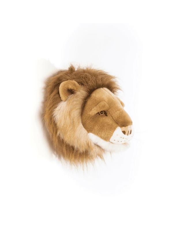 trophée tête de lion petit cesar décoration murale enfant originale