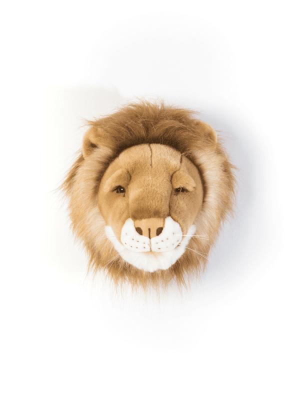 trophée tête de lion petit cesar décoration murale unique
