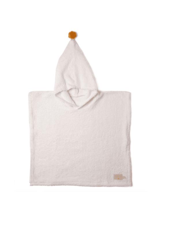 poncho so cute natural nobodinoz enfant bain coton bio capuche confortable