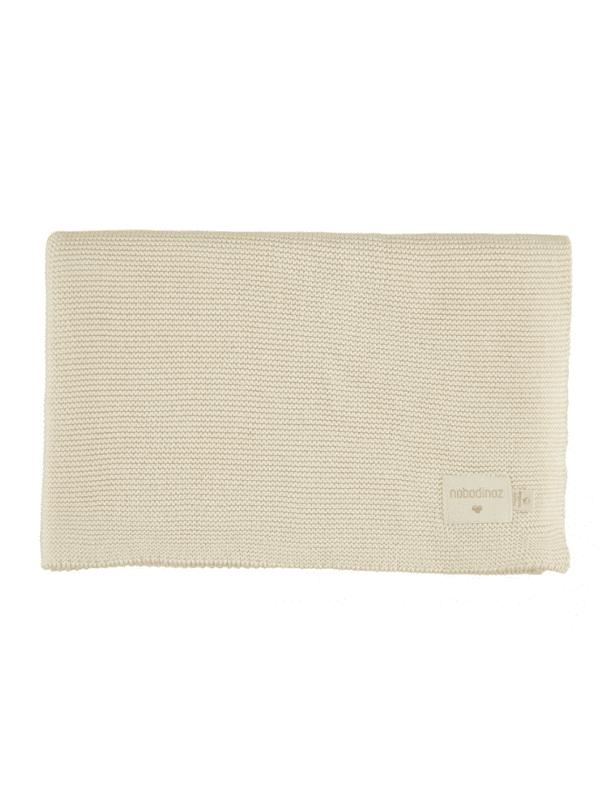 couverture so natural tricot coton bio idée cadeau naissance bébé