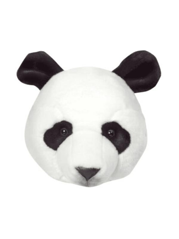 trophée tête panda déco murale chambre enfant originale