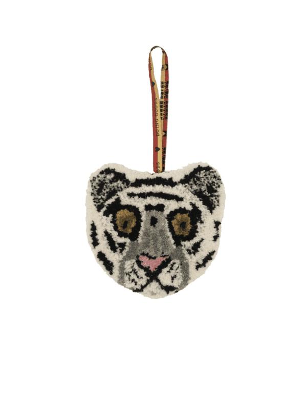 tête de tigre à suspendre laine doing goods