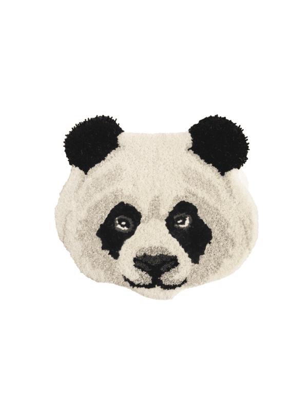 tapis tête de panda fait main doing goods chambre enfant.