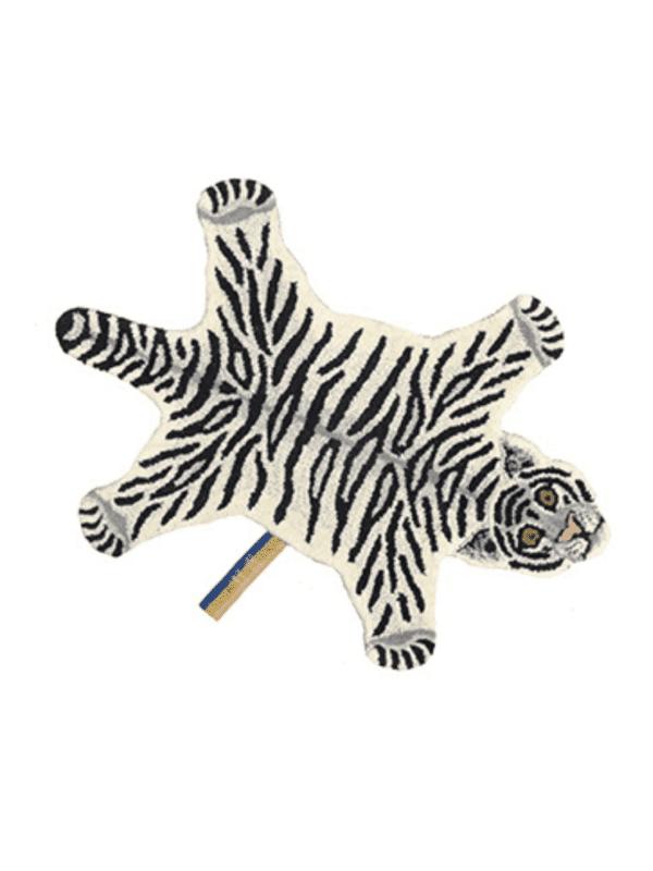 tapis léopard des neiges décoration chambre enfant