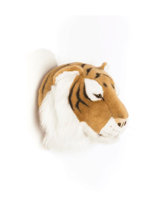 trophée tête de tigre enfant déco murale chambre