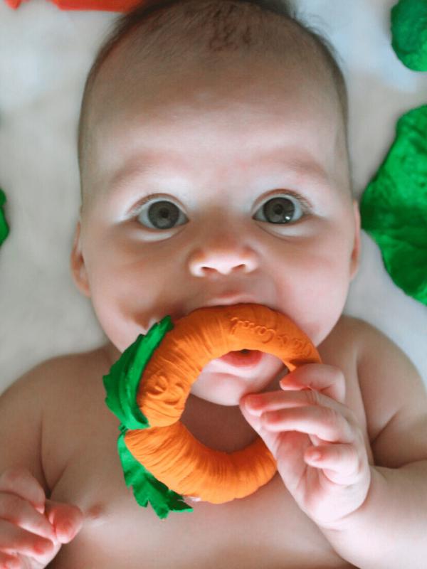 jouet de dentition cathy la carotte oly&carol
