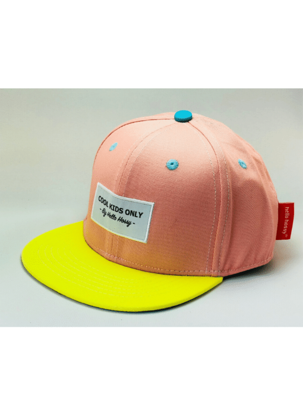 casquette enfant pink hello hossy