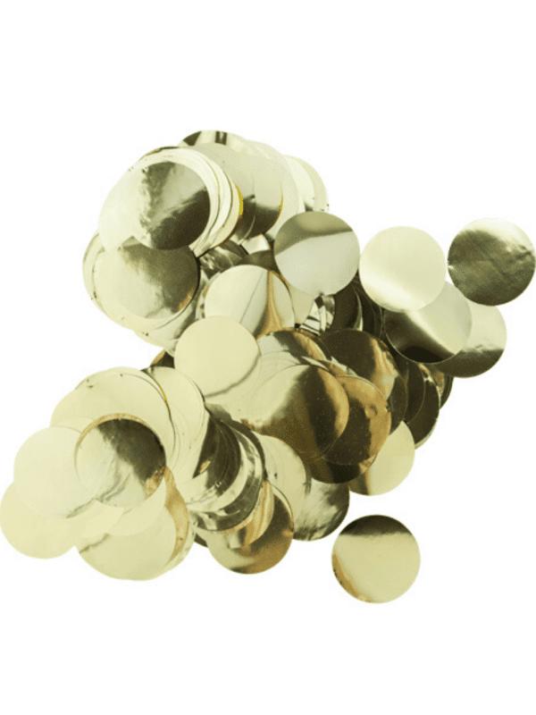 confettis or métallisé décoration fête