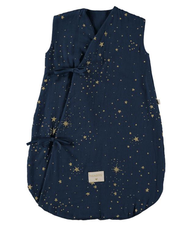 Gigoteuse d'été Dreamy - Gold stella Midnight blue nobodinoz
