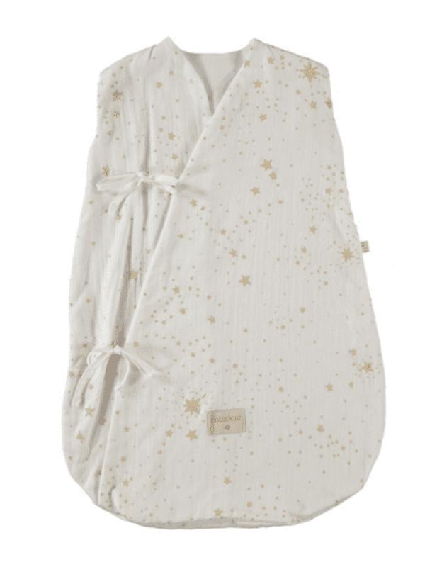 Gigoteuse d'été Dreamy - Gold stella White nobodinoz