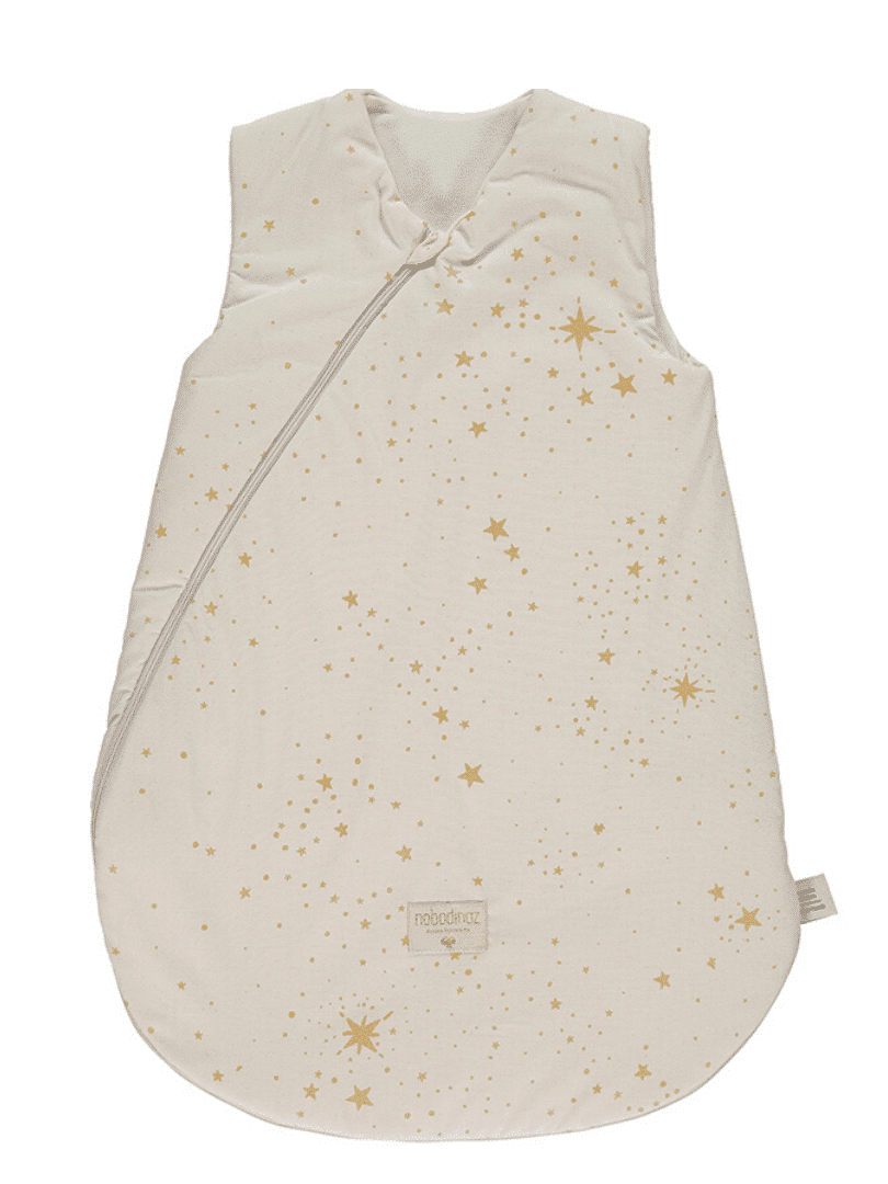 Gigoteuse de mi-saison Cocoon - Gold stella natural nobodinoz